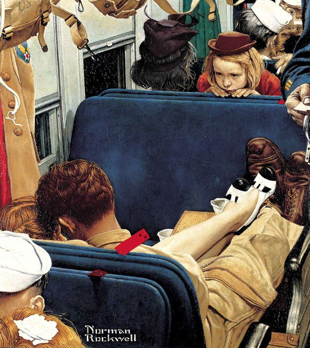 The Photos Behind Classic Norman Rockwell Paintings