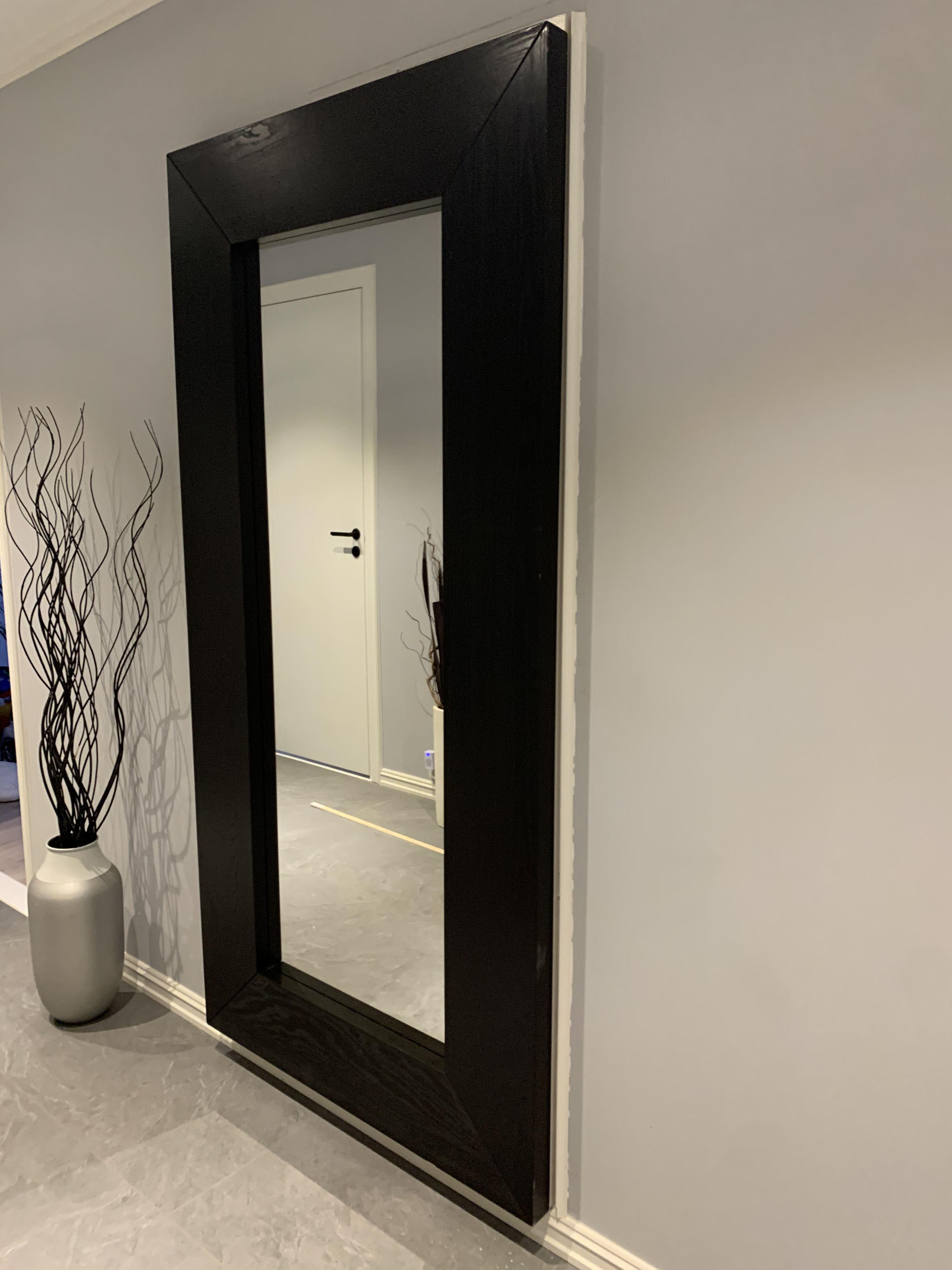 Mongstad Mirror Black Brown 37x74 3 4 Ikea In 2020 Mirror