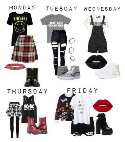 Fashion punk teenage 30+ Ideas #emofashion
