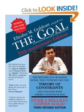 the goal a process of ongoing improvement eliyahu m goldratt  the goal a process of ongoing improvement eliyahu m goldratt jeff cox
