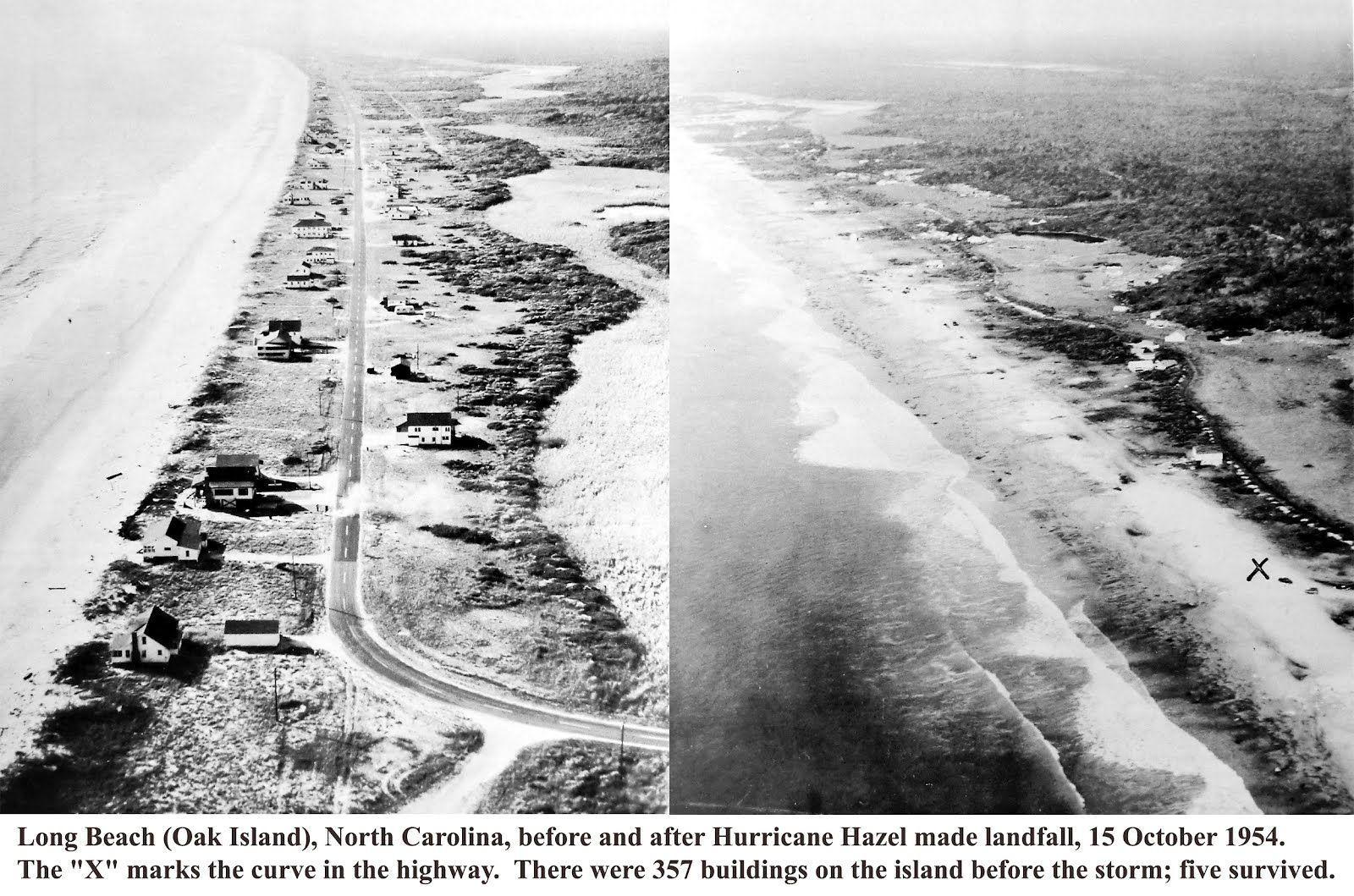 Hazel Southport Storm Surge Hurricane Hazel Us Army Corps Of Engineers