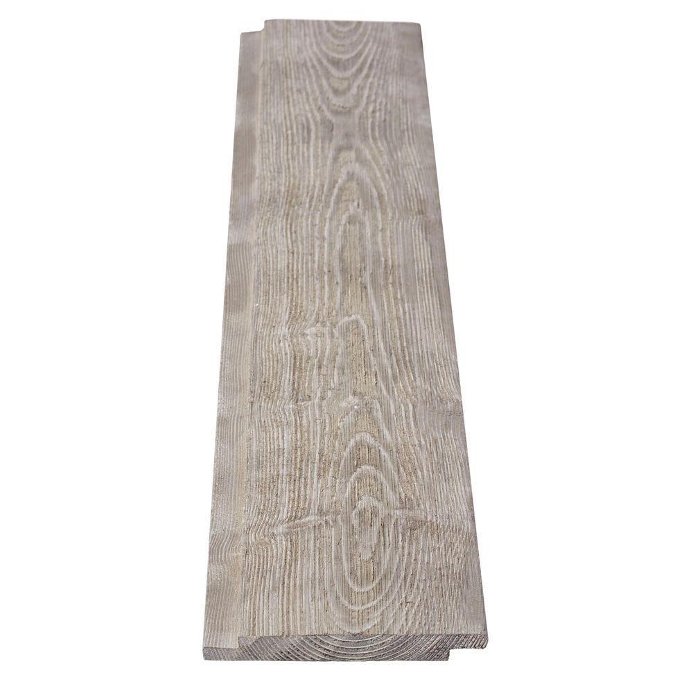 1 In X 6 In X 12 Ft Barn Wood Gray Shiplap Pine Board 243245 Gray Shiplap Barn Wood Shiplap