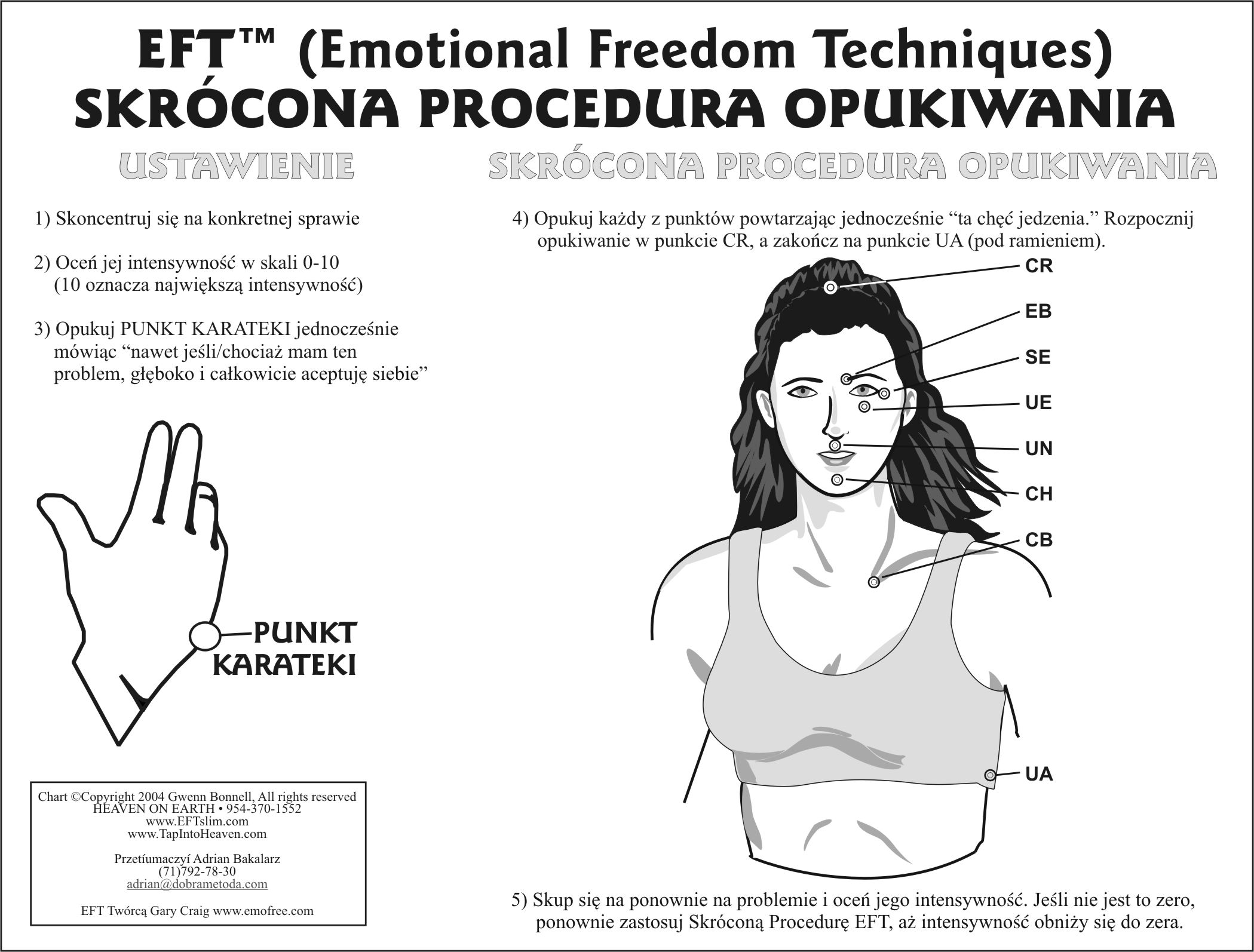 Eft tapping chart in polish also rh pinterest