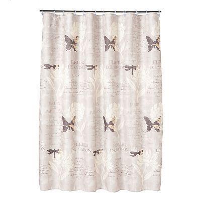 Saturday Knight Ltd Jardin Shower Curtain Shower Curtain Hooks