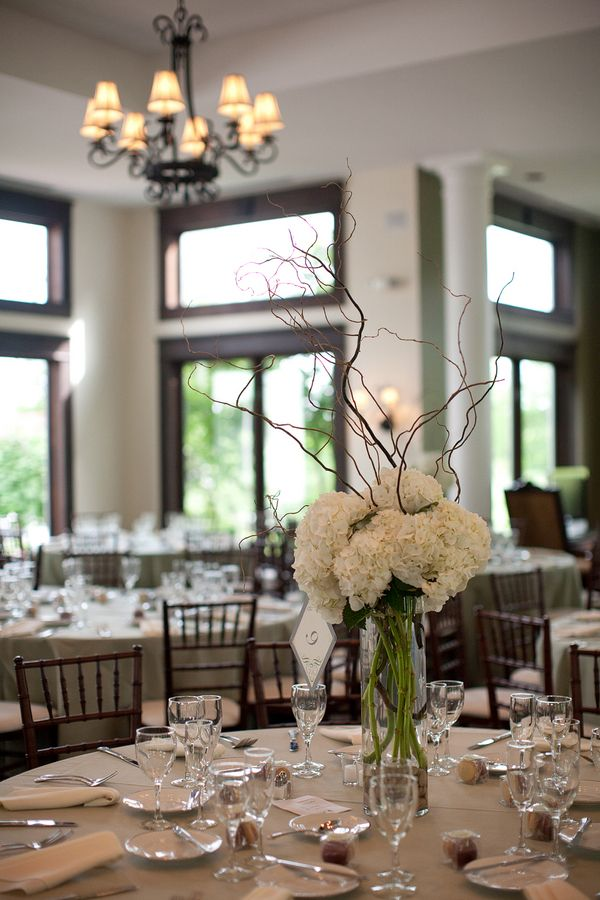 Simple Elegant Wedding Ceremony Decor Simple Green And White