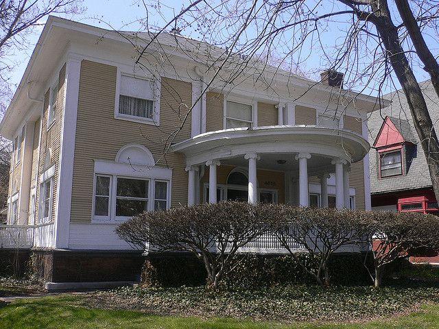 George Washington Maher Houses | George Blossom House - Frank Lloyd Wright - Chicago