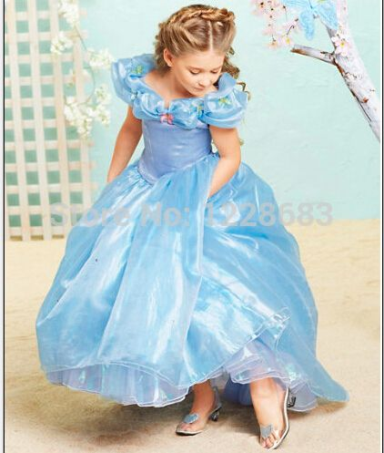 1a209d7c41d9d Pas cher Fantasias Infantis enfant Princesse Princesa déguisement Princesse  Halloween Costume pour enfants filles robe cendrillon