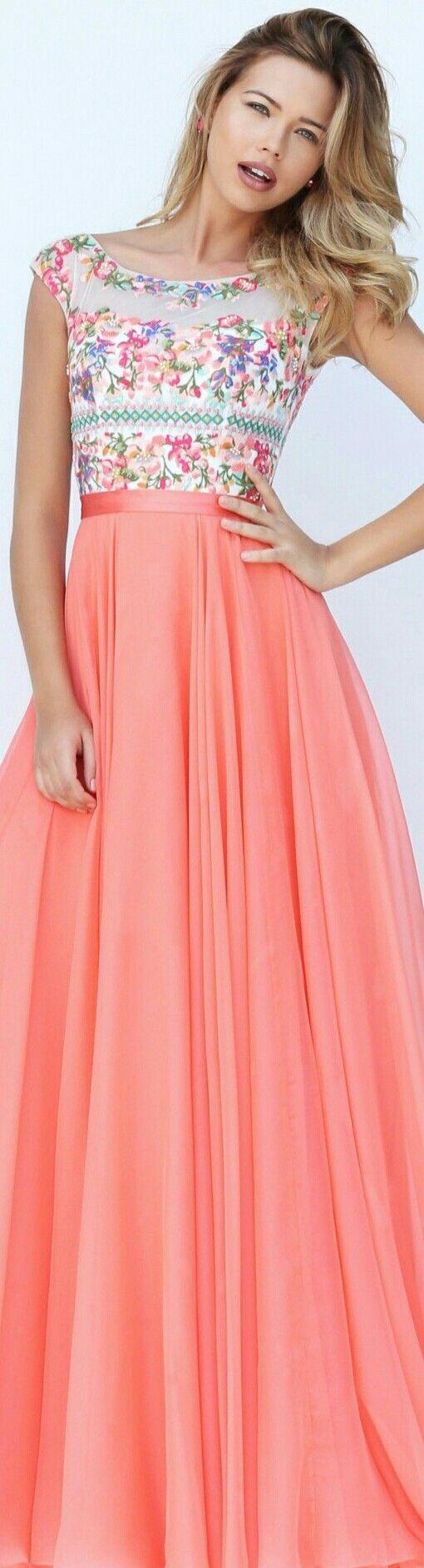 Sherri Hill 50457 | peach | peach by Cynthia fondren | Pinterest ...