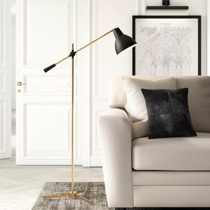 Casa 59 Task Reading Floor Lamp Reading Lamp Floor Arched Floor Lamp Floor Lamps Living Room