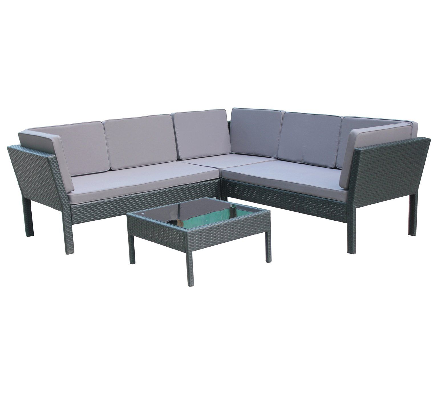 Buy Ratten Effect Corner Sofa Black At Argos Co Uk Your Online Shop For Garden Table And Chair Sets Garden Furniture Corner Sofa Sofa Black Sofa