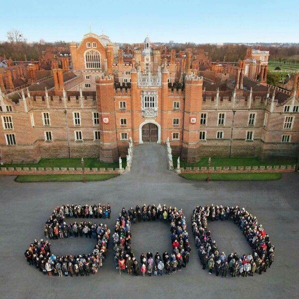 500 Years At Hampton Court?
