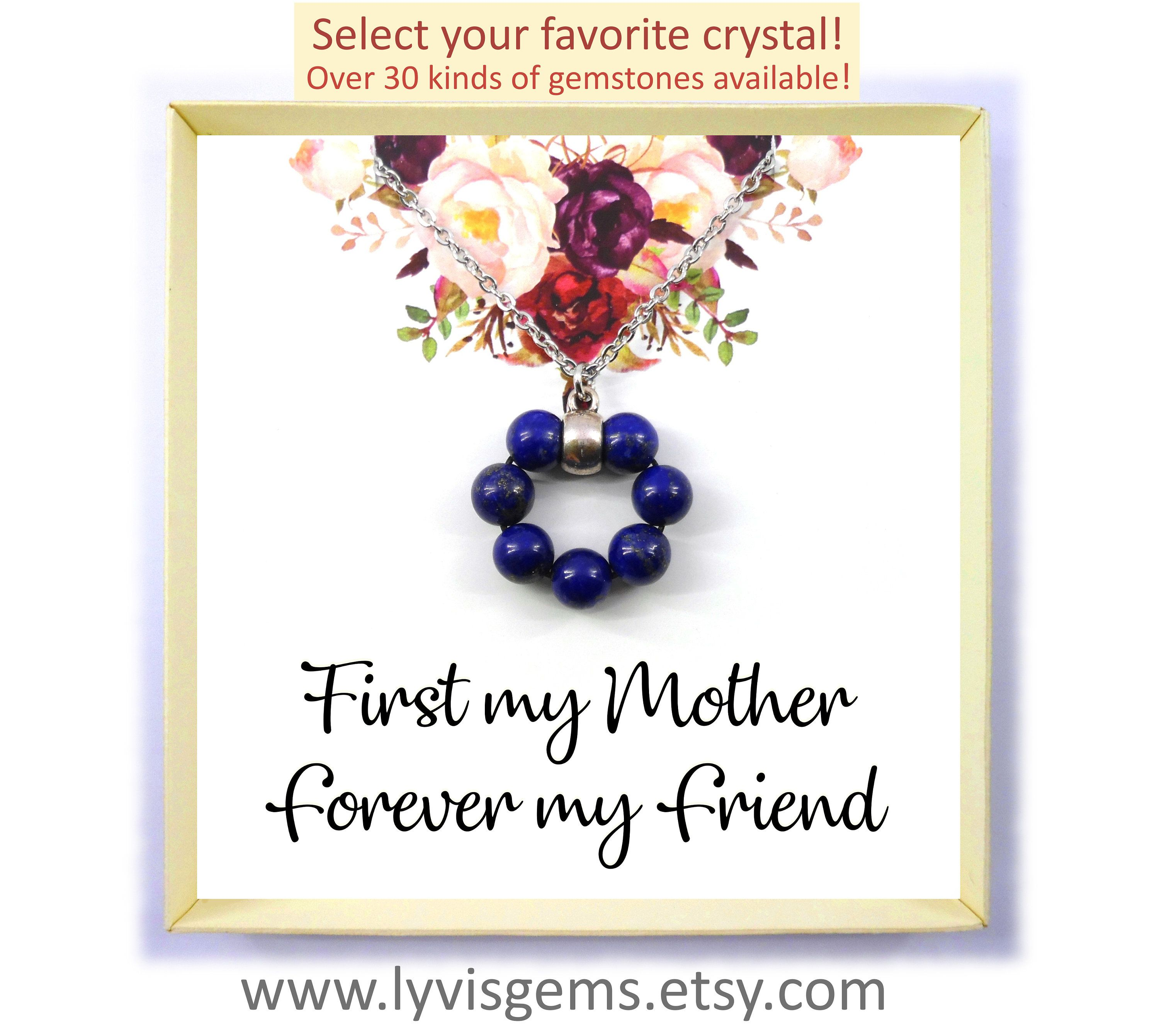 First My Mother Forever My Friend Necklace Gift For Mom Mother S Day Gift Necklace Best Friend Gift Message Card Christmas Gift For Mom Daughter Wedding Gifts Mother Daughter Wedding Gifts Christmas Gifts For Mom