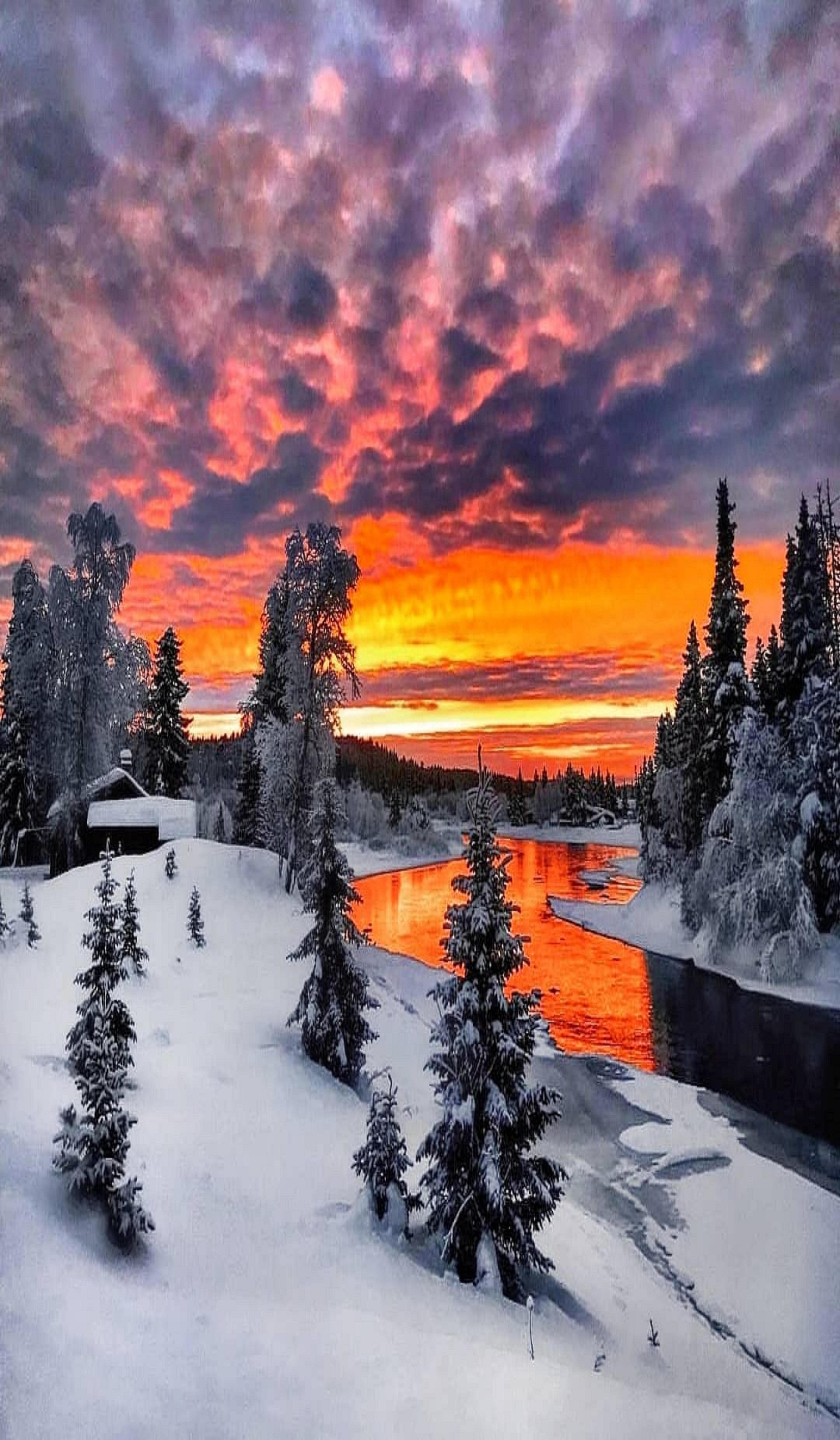 Pin By Author Sharon Gerlach On Sunset Winter Scenery Winter Pictures Winter Landscape