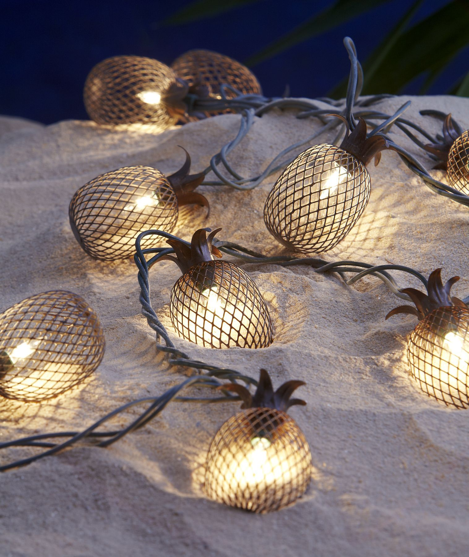 Solar String Lights Lowes Enchanting Fixtures Light Delightful Pineapple Outdoor Lights Pineapple Outdoor Inspiration