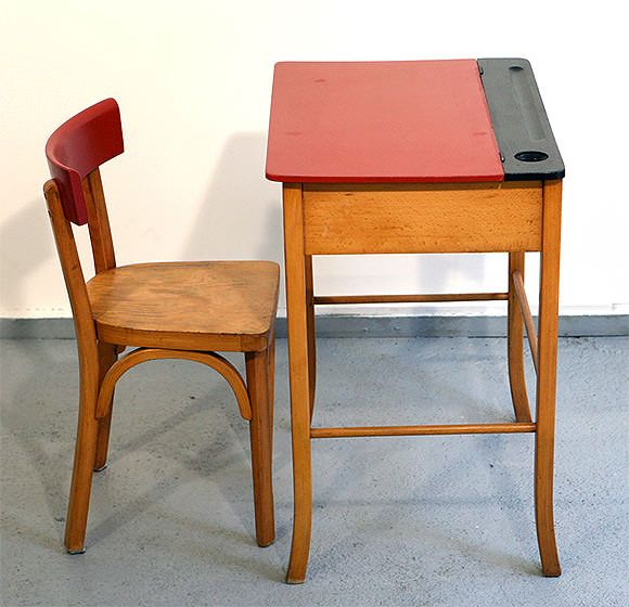 French Vintage for Kids' Rooms: Baumann Desk and Chair - Vintage French Shops For Kids French Vintage, Kids Rooms And Desks