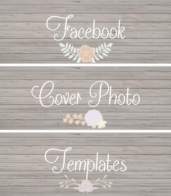 Chic Facebook Cover Photo Templates | Facebook cover photo template ...