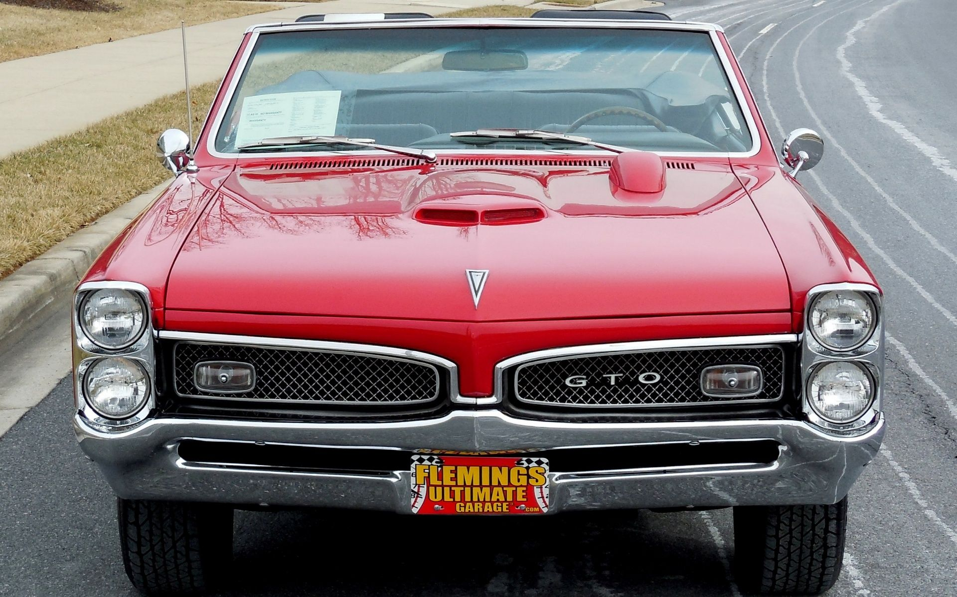67 Pontiac GTO Matching Numbers 4-Speed Convertible - Classic cars ...
