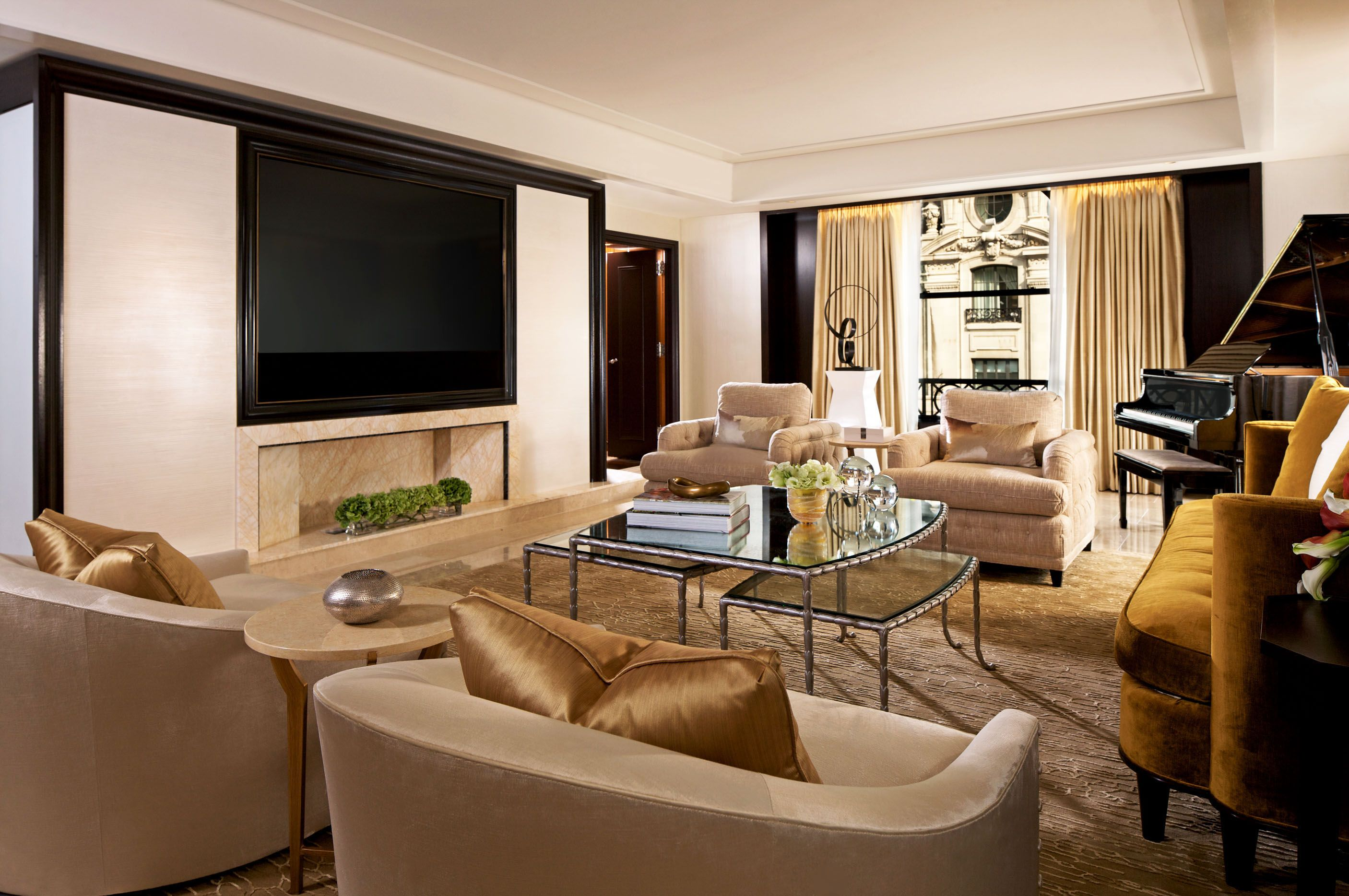 Chicago s top four luxury hotels home living room decor - Top interior design firms chicago ...