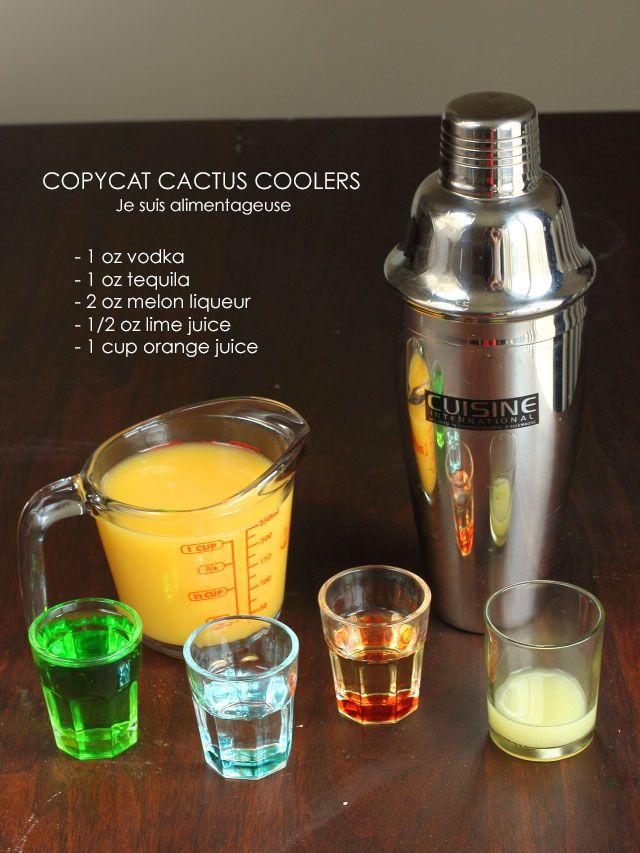 copycat cactus coolers recipe beverages drinks cocktails