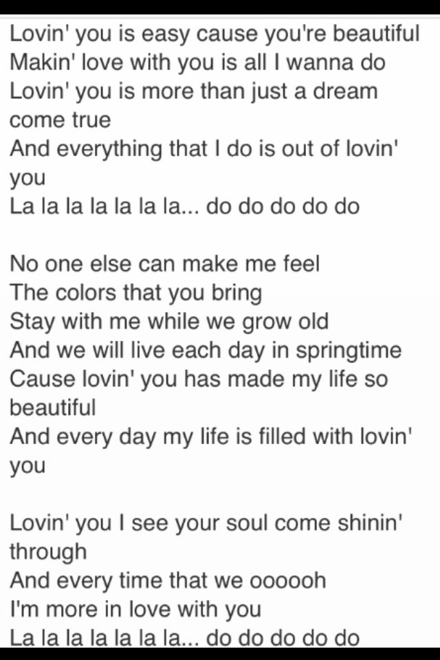 i am loving you song