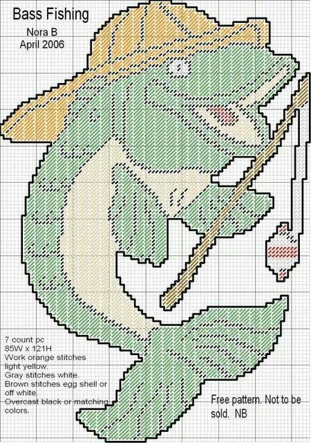 Bass fishing WH ~ **This will be fun to make for my son, the