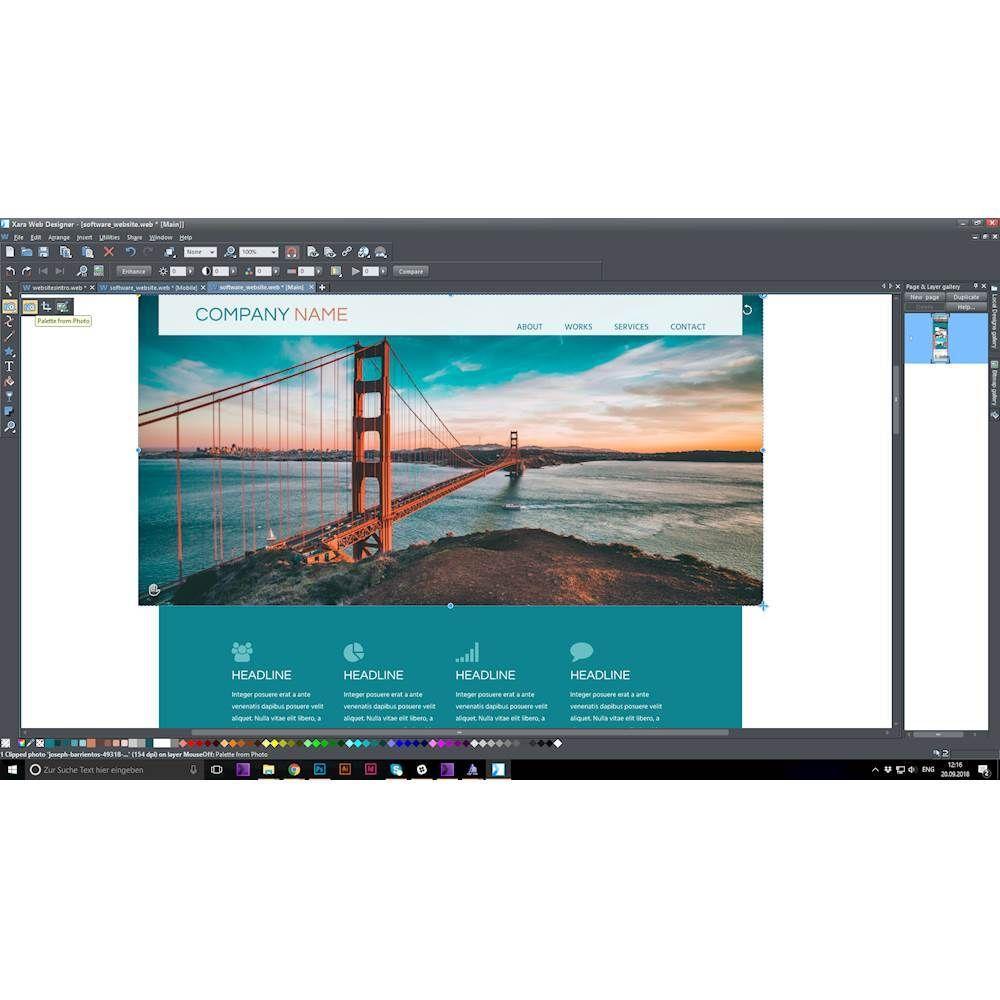 Magix Xara Web Designer Windows Digital In 2020 Window Design Web Design Design