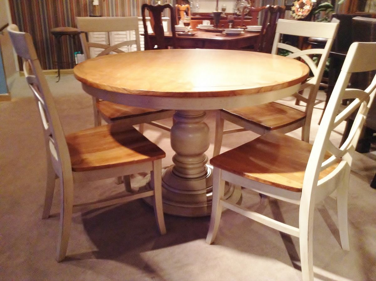 48 Inch Round Pedestal Dining Table | DINING FURNITURE ...