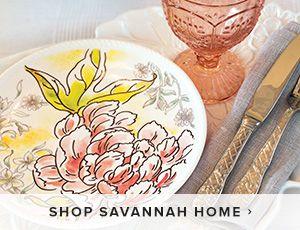 Shop Savannah Home Dinnerware & Decor