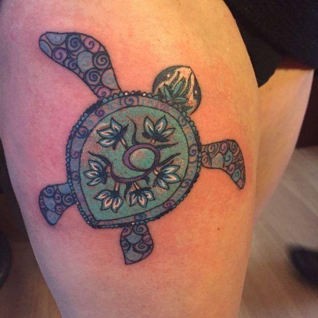 85 best sea turtle tattoo designs amp meanings 2019 - 650×650