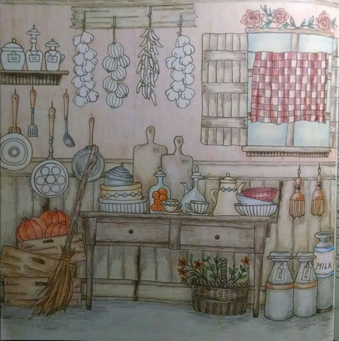 Country kitchen by Wendy