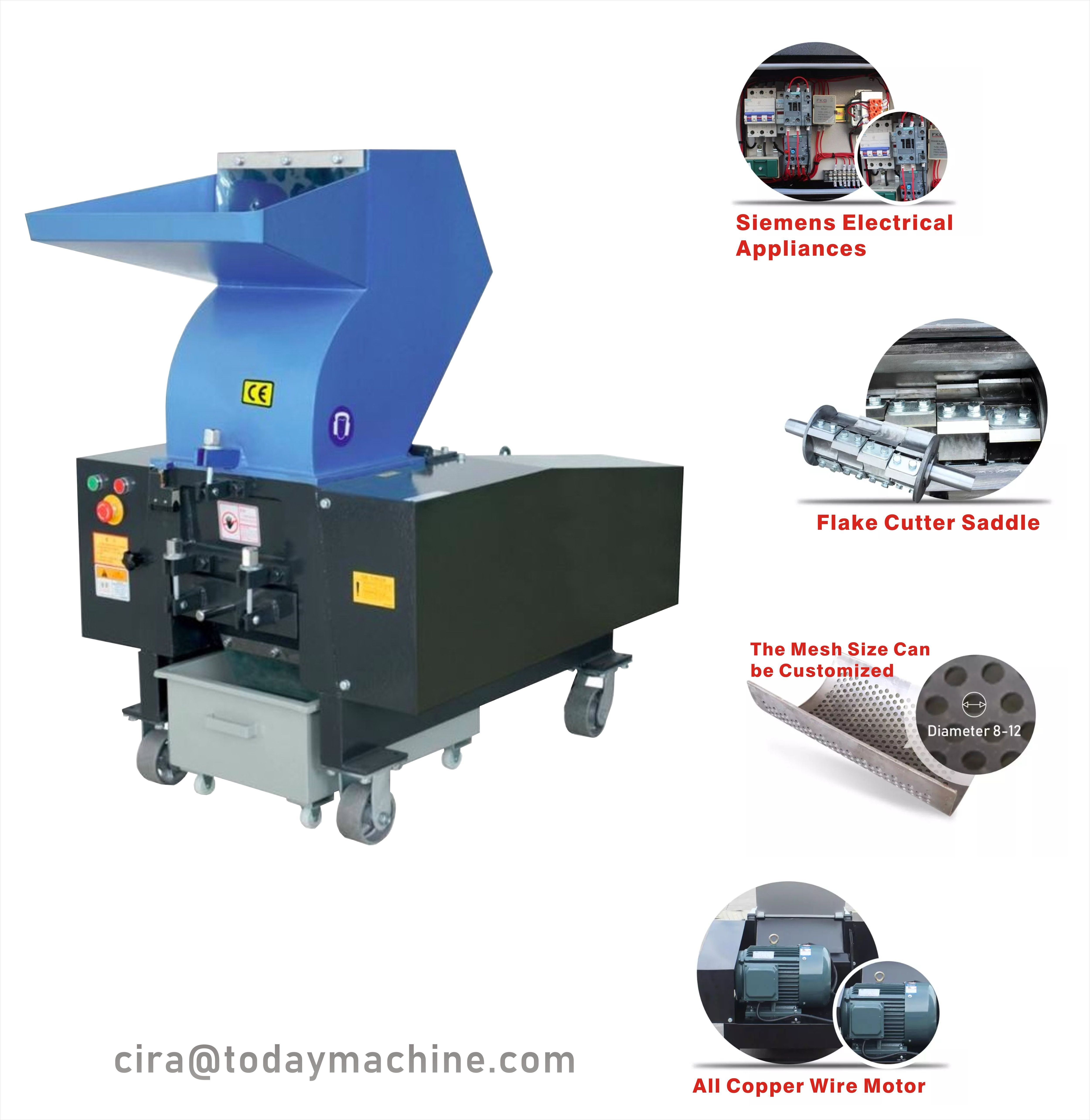 Cbd Plastic Shredder And Crusher Small Plastic Crusher Recycled Plastic Bottle Crusher Pvc Powder Vacuum Food Sealer Recycle Plastic Bottles Recycling Machines