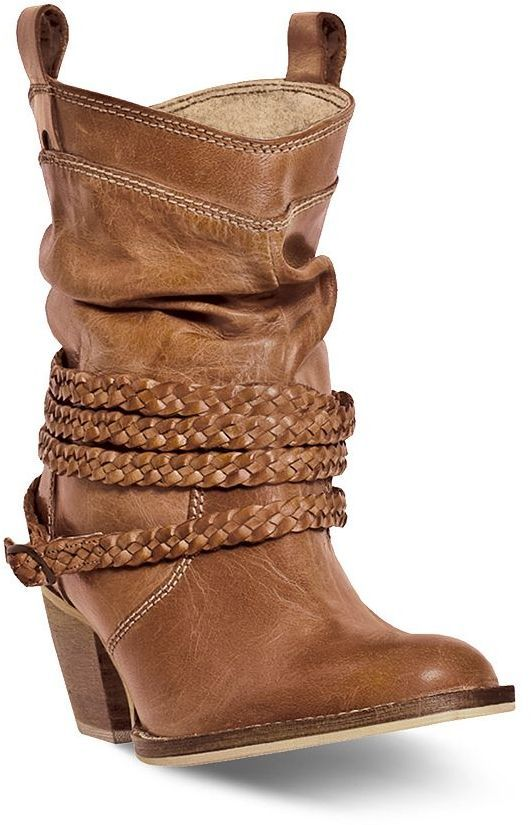50859ca7907 Dingo Twisted Sister Women's Slouch Western Ankle Boots | Western ...