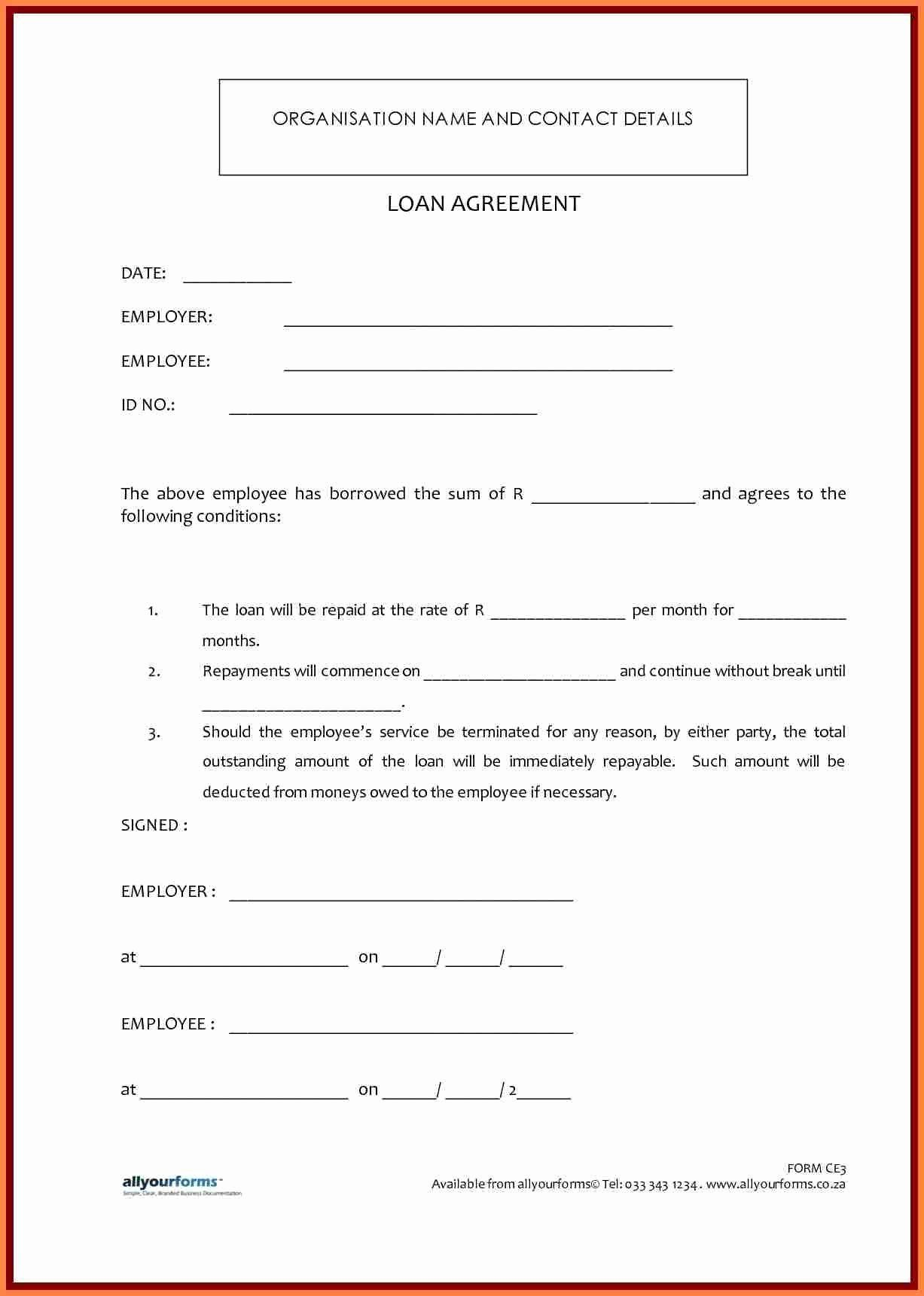 Loan Contract Template Free Beautiful Template Lending Money Agreement Template In 2020 Contract Template Personal Loans Loan Money