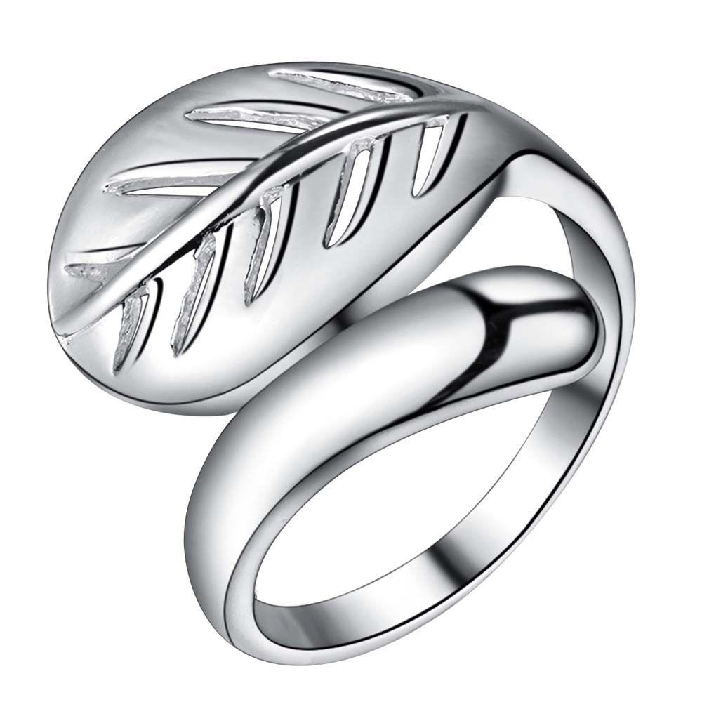 Leaf Openging Finger Ring