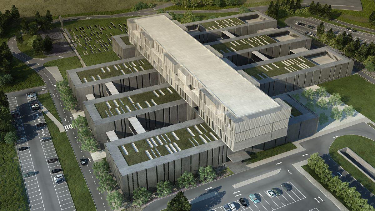 Acceso hospital arquitectura buscar con google ideas for Accesos arquitectura