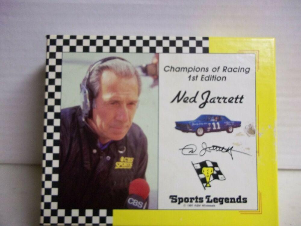 1991 Champions of Racing 1st Edition Ned Jarrett NASCAR HOF