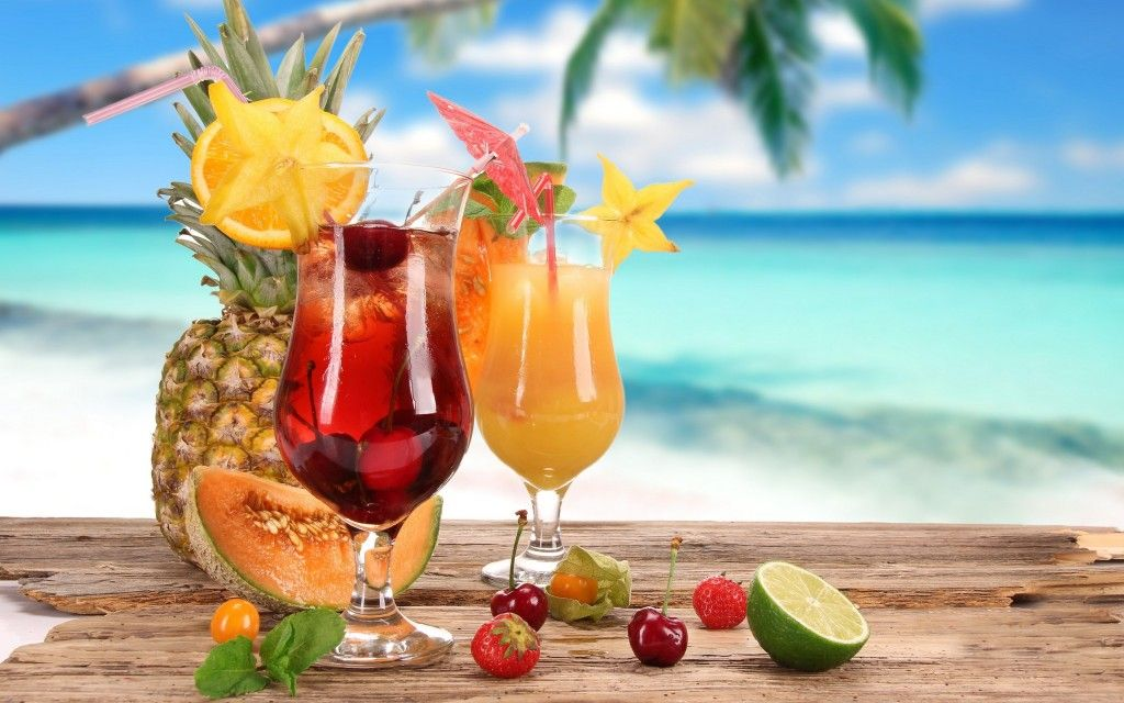 Permalink to Mixed Drink Beach Wallpaper