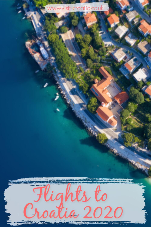 How far is croatia from uk flight