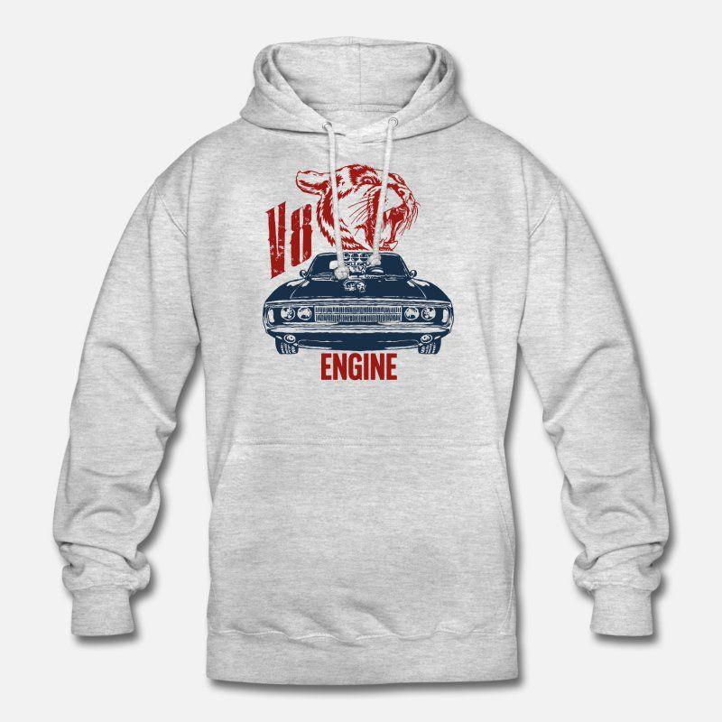 V8 Motor Kapuzenpullover