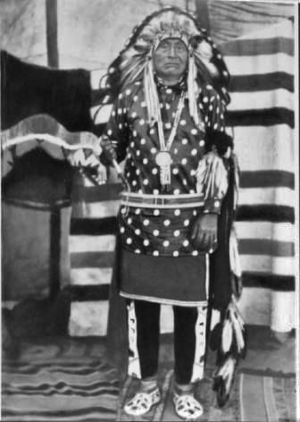 Heinmot Hihhih (Aka White Thunder, Aka Pahkar Tamkikeechet, Aka Five Times Looking Through, Aka Hemene Moxmox, Aka Yellow Wolf) - Nez Perce - Before 1935