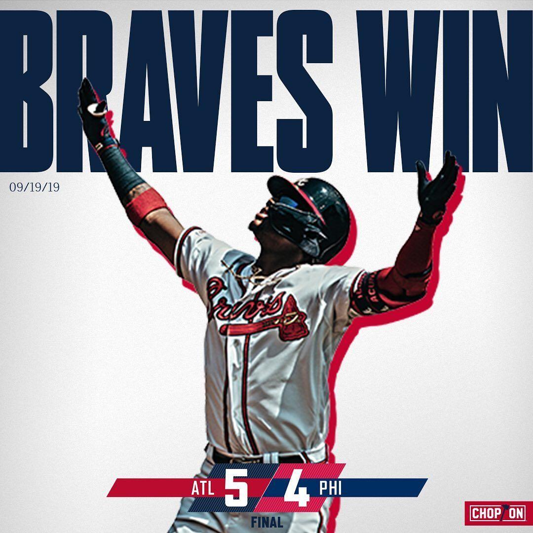 Atlanta Braves Magic Number 1 Chopon Atlanta Braves Atlanta Braves Baseball Braves