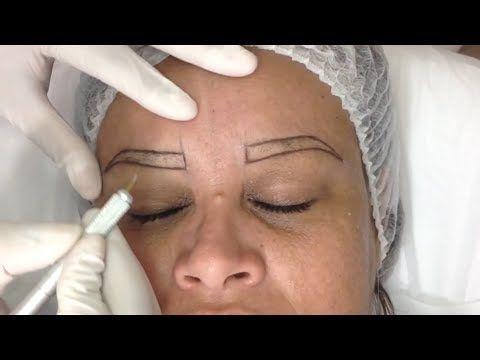 Tintura de Henna Lú Brandão em sobrancelha - YouTube cejas con - tipos de cejas