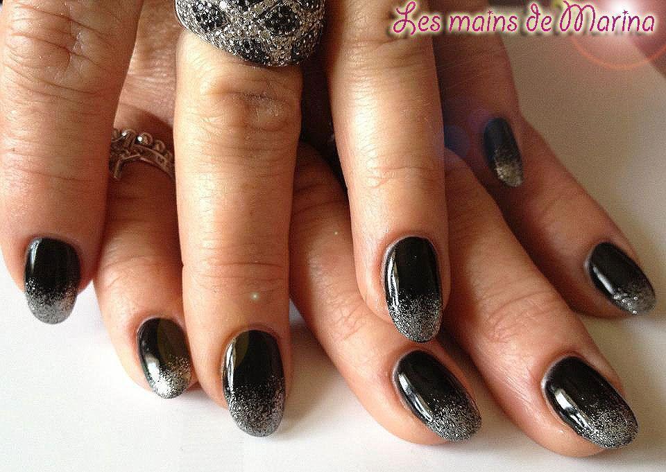 ongles en gel d co ongles gel pour fetes sympa. Black Bedroom Furniture Sets. Home Design Ideas