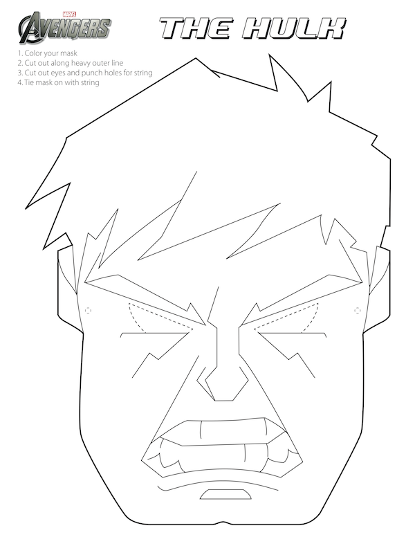 Avengers Free Printable Coloring Masks Quilting Rhpinterest: Avengers Birthday Coloring Pages At Baymontmadison.com