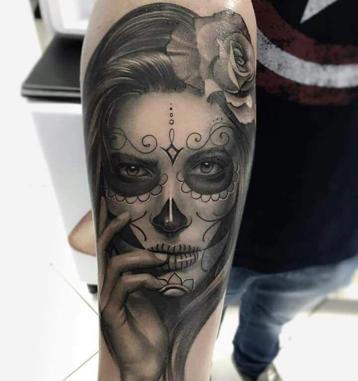 Catrina tattoo | Tattoo | Tattoos, Tattoo drawings, Sleeve