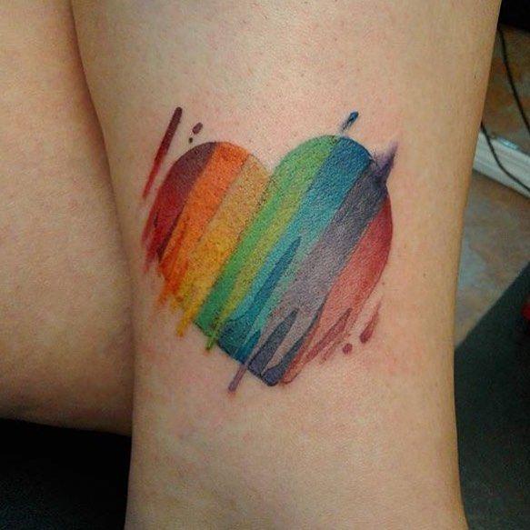 gays getting tattos