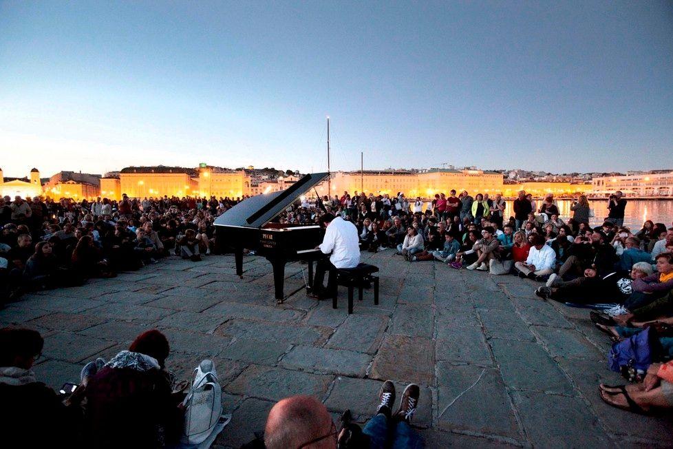 Giornata conclusiva di Trieste Loves Jazz, concerto all'alba. Foto: Massimo Silvano