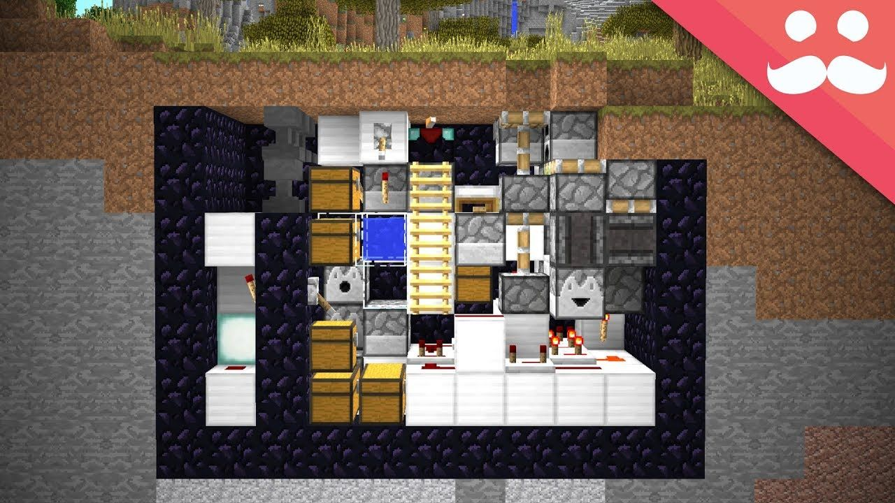 Making The Smallest Survival Bunker In Minecraft Leave A Like If You Enjoyed