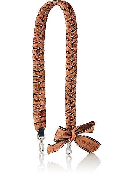 Womens Strap You Leather Shoulder Strap Fendi 7MAdCAJ