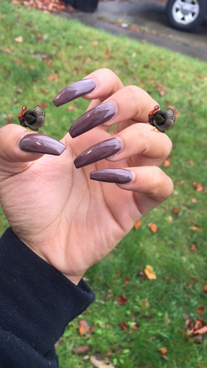 my nails for the thanksgiving holiday. | BOOTS | Pinterest | Arte de ...